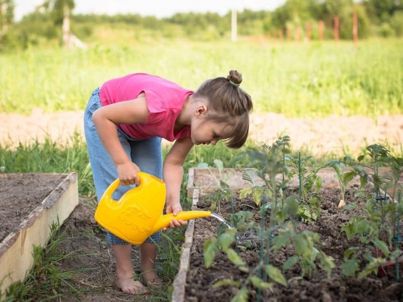 gardening with kids is a great way to connect